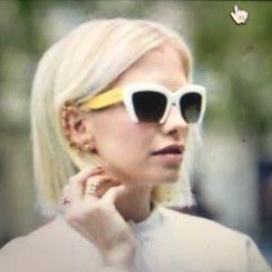 c8cdfdb4e3ae Miu Miu Accessories - Miu Miu gradient retro inspired cat eye sunglasses